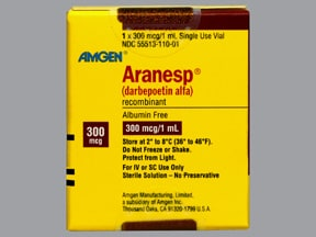 ARANESP 300 MCG/ML VIAL