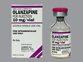 OLANZAPINE 10 MG VIAL