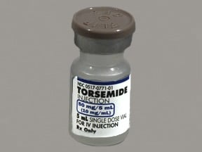TORSEMIDE 50 MG/5 ML VIAL