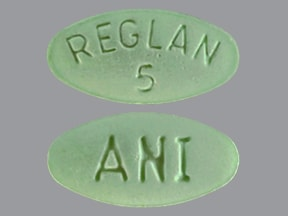 REGLAN 5 MG TABLET
