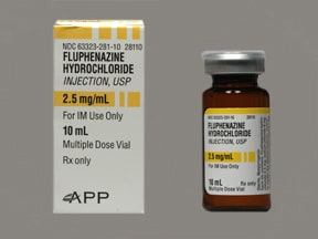 FLUPHENAZINE 2.5 MG/ML VIAL