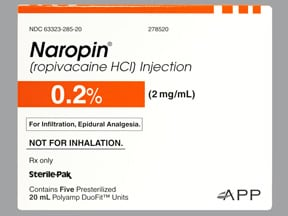 NAROPIN 0.2% 40 MG/20 ML AMP