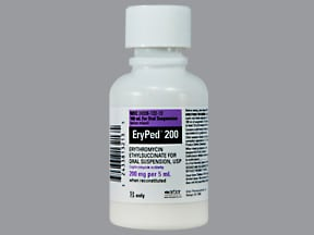 ERYPED 200 MG/5 ML SUSPENSION