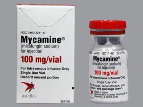 MYCAMINE 100 MG VIAL