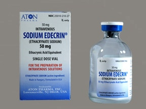 SODIUM EDECRIN 50 MG VIAL