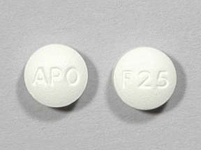 Image for fluvoxamine oral 25 mg