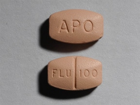 Image for fluvoxamine oral 100 mg