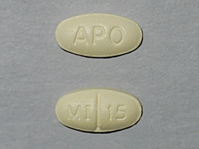 Image for mirtazapine oral 15 mg