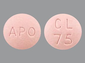 Image for clopidogrel oral 75 mg