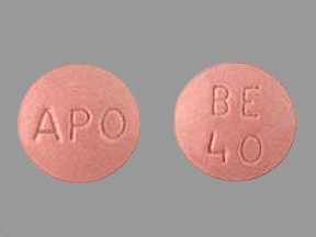 Image for benazepril oral 40 mg