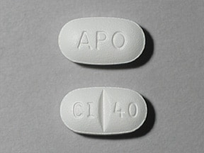 Image for citalopram oral 40 mg
