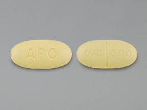 Image for oxcarbazepine oral 300 mg