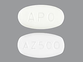 Image for azithromycin oral 500 mg