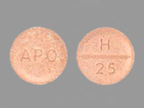 Image for hydrochlorothiazide oral 25 mg