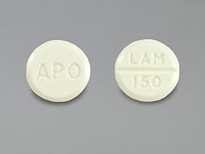 Image for lamotrigine oral 150 mg