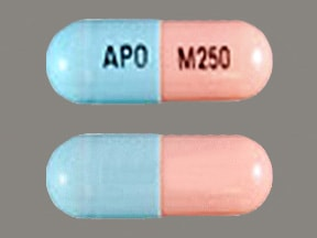 Image for mycophenolate mofetil oral 250 mg