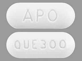 Image for quetiapine oral 300 mg