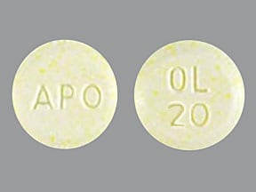 Image for olanzapine oral 20 mg