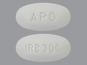 Image for irbesartan oral 300 mg