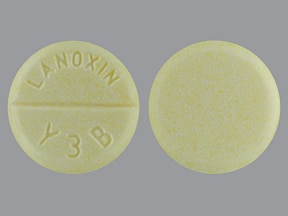 LANOXIN 125 MCG TABLET