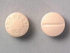 TRANDATE 100 MG TABLET
