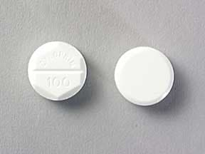ZYLOPRIM 100 MG TABLET