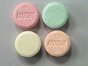 TUMS E-X TABLET CHEWABLE