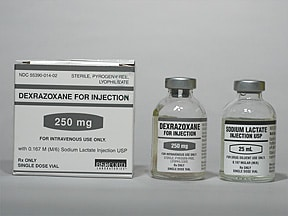 DEXRAZOXANE 250 MG VIAL
