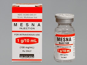 MESNA 100 MG/ML VIAL