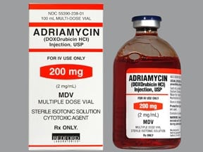 ADRIAMYCIN 200 MG/100 ML VIAL