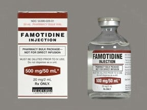 FAMOTIDINE 500 MG/50 ML VIAL