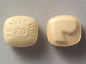 PRAVACHOL 20 MG TABLET