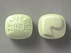 PRAVACHOL 40 MG TABLET
