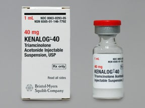 kenalog steroid injection atrophy