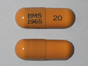 ZERIT 20 MG CAPSULE