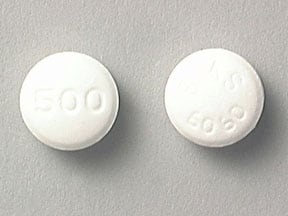 GLUCOPHAGE 500 MG TABLET