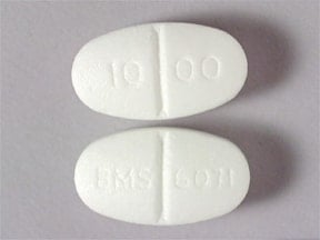 GLUCOPHAGE 1,000 MG TABLET