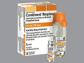Combivent Respimat inhalation : Uses, Side Effects