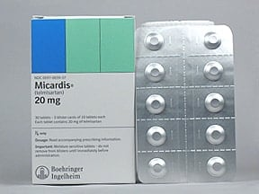 MICARDIS 20 MG TABLET