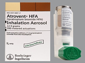 ATROVENT HFA INHALER