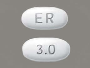 MIRAPEX ER 3 MG TABLET