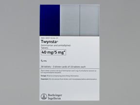 TWYNSTA 40-5 MG TABLET