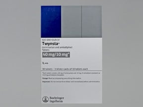 TWYNSTA 40-10 MG TABLET