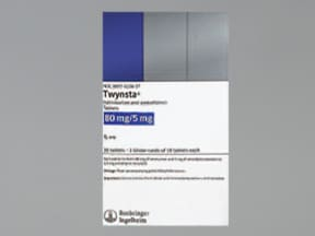 TWYNSTA 80-5 MG TABLET