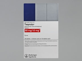 TWYNSTA 80-10 MG TABLET