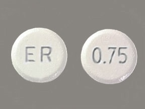 MIRAPEX ER 0.75 MG TABLET