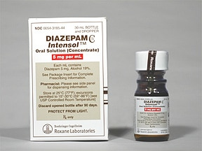 DIAZEPAM 5 MG/ML ORAL CONC