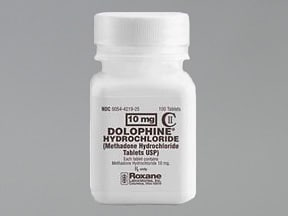 DOLOPHINE HCL 10 MG TABLET