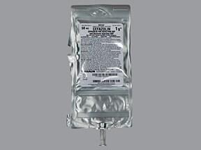 CEFAZOLIN 1 G/50 ML-DEXTROSE