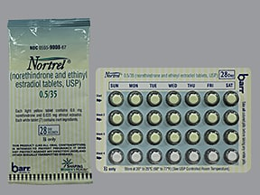 NORTREL 0.5-35 TABLET